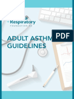 Adult Asthma Guidelines