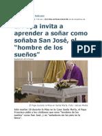 Papa habla de San Jose hombre de sueños.docx