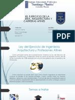 Ley Del Ejercicio de La Ingenieria - Erika Sebastiani 20%