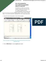 Como Criar Perspectiva Isométrica a Partir de Uma Planta Baixa No AutoCAD _ Professor Roberto Fernandes