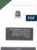 Procedimiento para la Baja de bienes por desuso, obsoletos, destrudios, hurto o robo PRO-DAD-009_GAD Portoviejp.pdf
