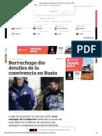 Burruchaga Dio Detalles de La Convivencia en Rusia _ 442