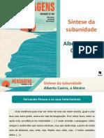 Síntese Da Subunidade - Alberto Caeiro