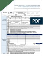 Formulario Para Declartación Industria y Comercio 2019
