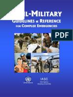 CIVIL-MILITARY Guidelines in CHE.pdf