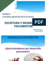 1. Escritura y Desarrollo Psicomotor