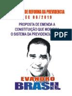 PEC 06/2019; Reforma da Previdencia