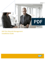 SAP File Lifecycle Management_Installation_Guide