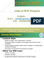 NVH Lecture1-Introduction(Spring 2013)