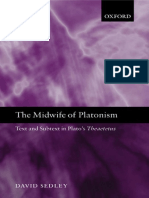 David Sedley - The Midwife of Platonism_ Text and Subtext in Plato's Theaetetus (2004).pdf