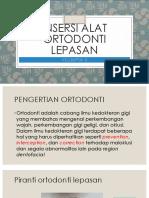 Insersi Alat Orto Lepasan Klpk 5