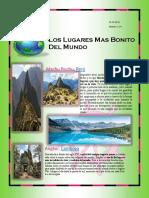 Revista Lugares Mas Bonitos Del Mundo