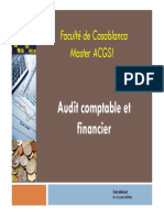 MACG - Audit Comptable Et Financier Chap 1
