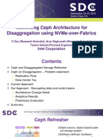 Gohad T Zou Y Raghunath a Rethinking Ceph Architecture for Disaggregation Using NVMe-over-Fabrics