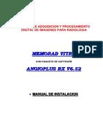 Memorad Vitro-Angioplus Instalacion