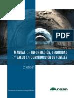 Manual de Informacion, Seguridad y Salud en Construccion de Túneles - 2° Edición