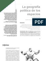 Ortiz Charris, G. - La Geopolítica de Los Espacios