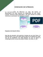 Sistemas Operativos - Esquemas De Memoria.docx