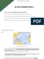 ¿Cuántos Viajes Hizo Cristóbal Colón a América_ » Respuestas.tips