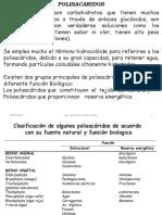 Polisacaridos. Clase  6.pptx