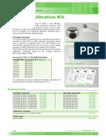 Datasheet Output Scaling