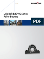 081 039 Link Belt B22400 Series Roller Bearing Brochure