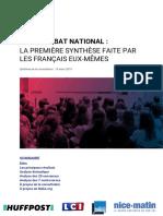 Rapport Make.org - Grand Débat national