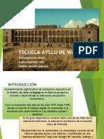 Escuela ayllu