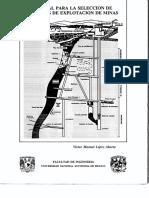 MANUAL PARA LA SELECCION DE METODOS DE EXPLOTACION DE MINAS.pdf
