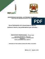 Breve radiografía de la arqueología en México.pdf