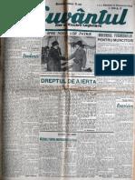 Cuvantul anul XVII (serie noua) nr. 62, 14 dec. 1940