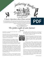 The Gathering Basket Newsletter