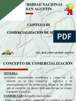 Comercalización de Minerales y Metales Cap. III