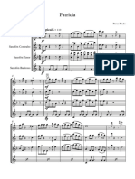 Patricia - Partitura y Partes