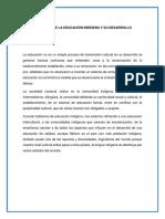 EL FUTURO DE LA EDUCACIÓN INDÍGENA Y SU DESARROLLO.docx