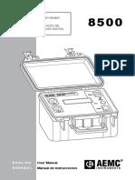 Manual de Instrucciones DTR8500