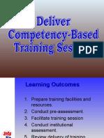 Deliver CBT Presentation