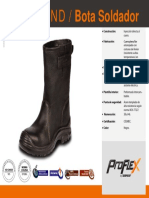 CALZADO - Pf 0111 Nd Bota Soldador Ft