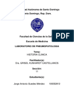 Historia Clinica Lab Pneumo