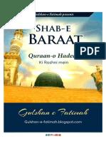 Shab E Baraat QurAan O Hadees Ki Roahni Me'N_010518141929