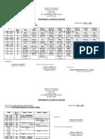 Class Program - 2014