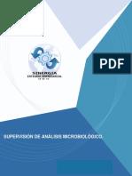 Supervision de Analsis Microbiologico