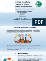 Tema 3. Topicos de Investigacón de Mercados