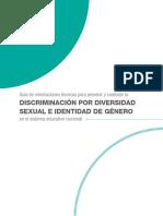 Guía Discriminación Por Diversidad Sexual y Género, 2019
