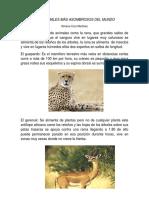 LOS ANIMALES MÁS ASOMBROSOS DEL MUNDO.docx