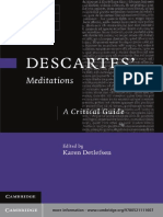 (Cambridge Critical Guides) Karen Detlefsen - Descartes' Meditations_ A Critical Guide-Cambridge University Press (2012).pdf