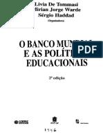 O banco mundial e as políticas educacionais.pdf