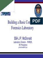 Building Basic Computer Forensics Laboratory