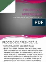 Fund Psicoped. Aprendizaje Mar 16