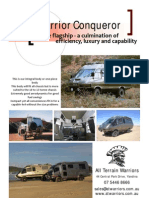 Warrior Conqueror Brochure